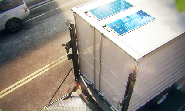 solar panels for trucks