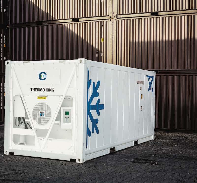 marine container refrigeration